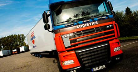 Volledige controle over transport en warehousing