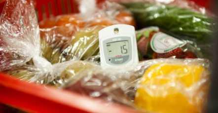 Handige temperatuurlogger voor de koelkast om registratie te digitaliseren