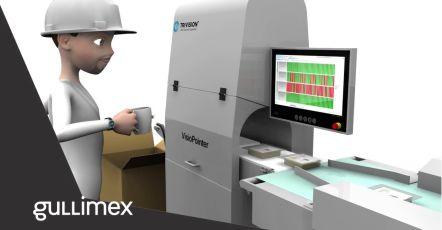 Avec VisioPointer, Gullimex rehausse le niveau des contrôles de la qualité de l'emballage alimentaire en Belgique.