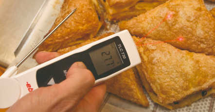 HACCP infrarood thermometer
