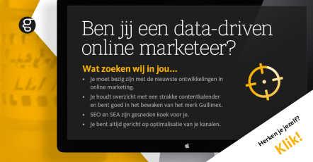 Ben jij een data-driven online marketeer?