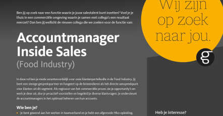 ACCOUNTMANAGER INSIDE SALES