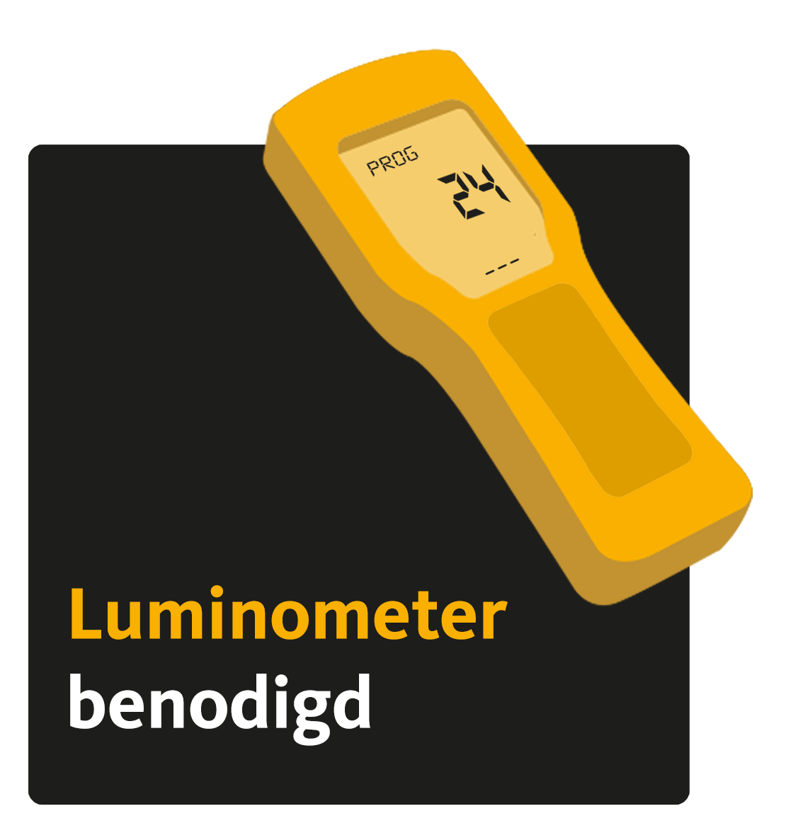 Luminometer benodigd